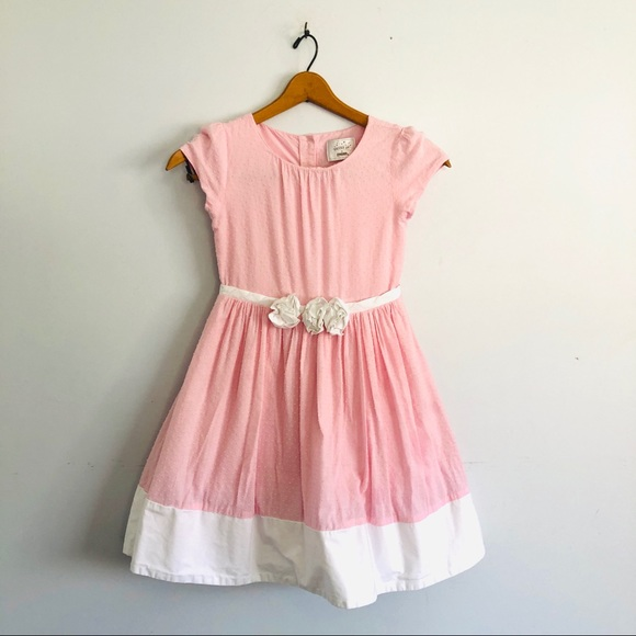 💰SOLD Dressed Up By Gymboree Pink Dress Rosettes